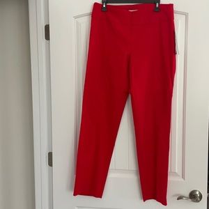 New Directions women's red pants